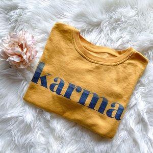 Zoe + Liv Karma Sweatshirt Medium Oversized Medium